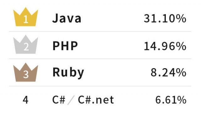 プログラミング言語_求人数_ランキング